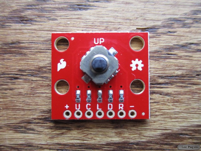 SparkFun – 5-Way Tactile Switch Breakout – Don Luc Electronics