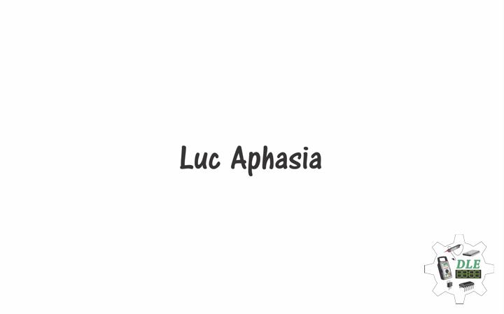 aphasia