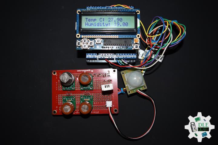RGB LCD Shield 16x2 Character Display